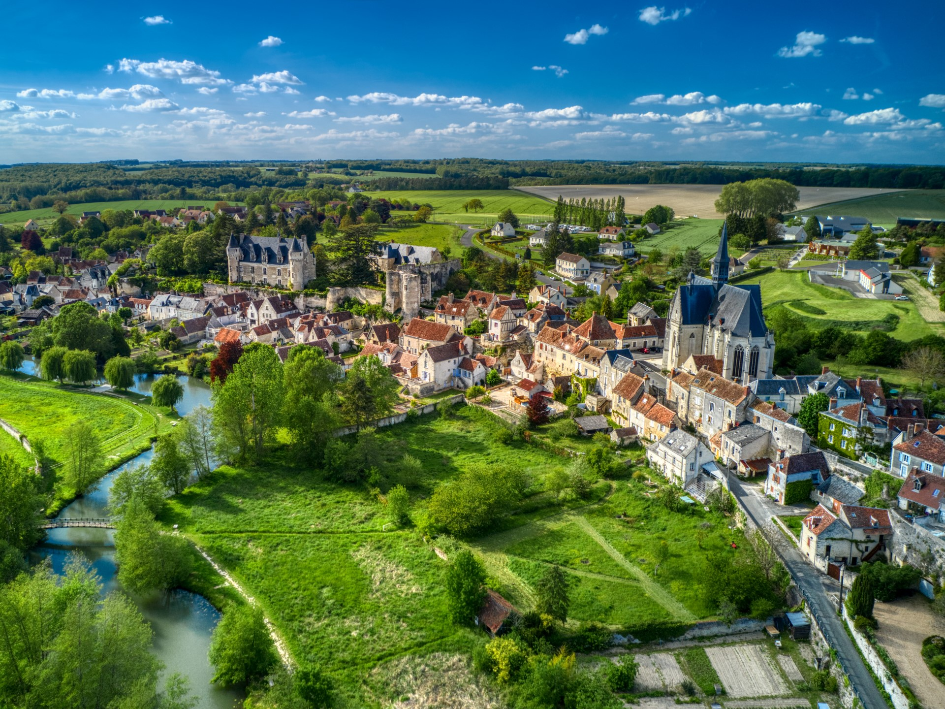 Les plus beaux villages en Sud Touraine